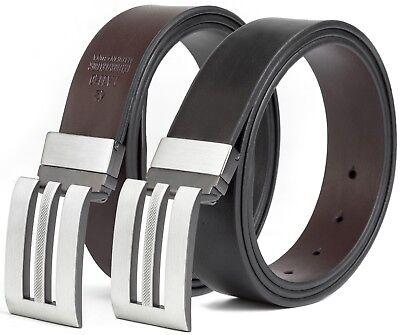 Fabio Valenti Men/'s Classic Dress Leather Belt 1.33/'/'width