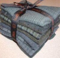 Wool Bundle Small- Union Texture- Primitive Gatherings- 7 X 8- 8 Pieces