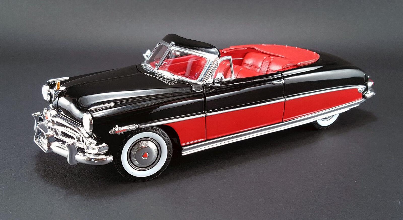 1952 Hudson Hornet 1 18 rosso nero 1807501