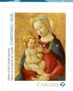 SINGLE-FROM-BKT-XMAS-MADONNA-amp-CHILD-2016-DOMESTIC-RATE-85c-MNH