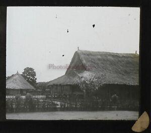 África Casas Francia Foto Placa P9T4n11 Vintage Estéreo