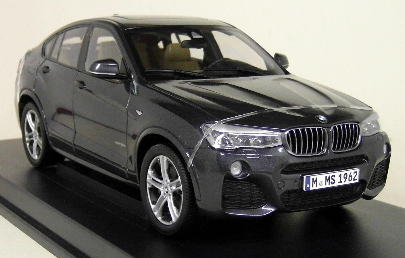 PARAGON 1 18 Scale-BMW X4 F26 sofisto gris diecast modèle voiture