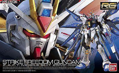 Strike Freedom Gundam RG 14 Real Grade 1/144 Model Figure Kit Bandai Seed