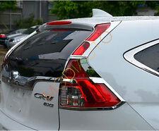 For Honda CRV CR-V 2015 2016 ABS Chromed Rear Tail Light Lamp Cover Bezel Trim