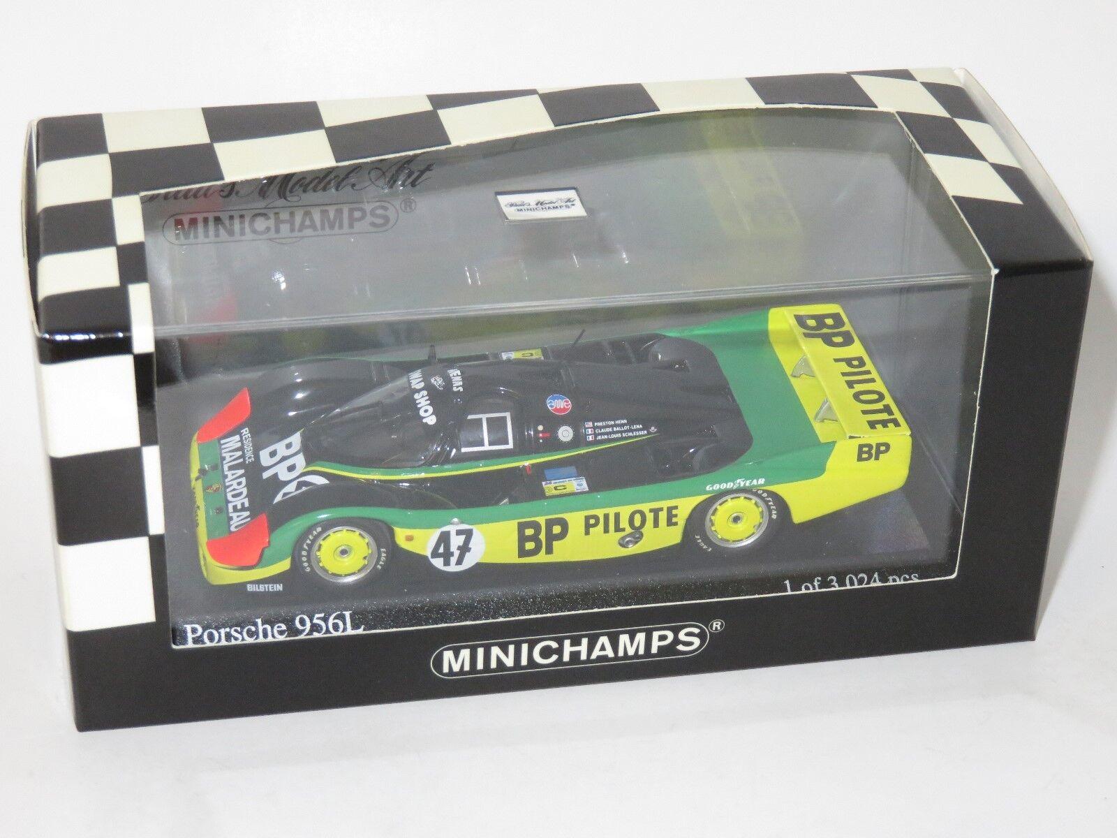 Porsche 1/43 956 L BP SWAP SHOP-John Fitzpatrick Le Femmes 24 hrs 1983 #47   Formes élégantes    Le Roi De La Quantité    Prix Modéré