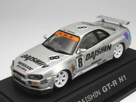 EBBRO 1 43 Daishin Nismo GT-R N1 1999   8 from Japan  magasiner en ligne aujourd'hui