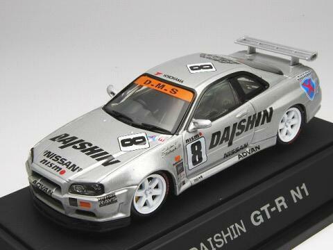 Ebbro 1 43 Daishin Nismo GT-R N1 1999  8 from Japan