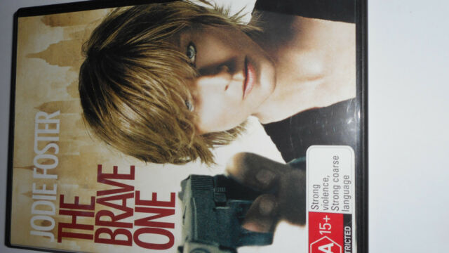 THE BRAVE ONE DVD,JODIE FOSTER