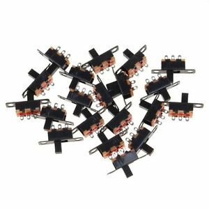 20pcs-Mini-Size-Black-SPDT-Slide-Switch-On-Off-3-Pin-PCB-Mount-for-DIY-5V-0-3A