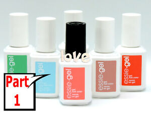 Essie-Gel-Color-Pulir-Una-Color-Parte-1-Elegir-Cualquier-Color