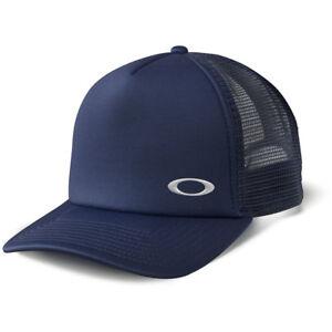 9ad64c826b6 NEW Oakley Mx Flip Navy Motocross Premium Trucker Hat 888896924927 ...