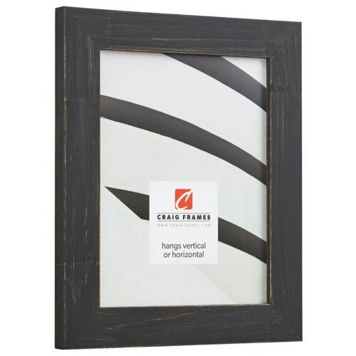 "1.5/"" Country Charcoal Black Picture Frame Poster Frame Craig Frames Jasper"