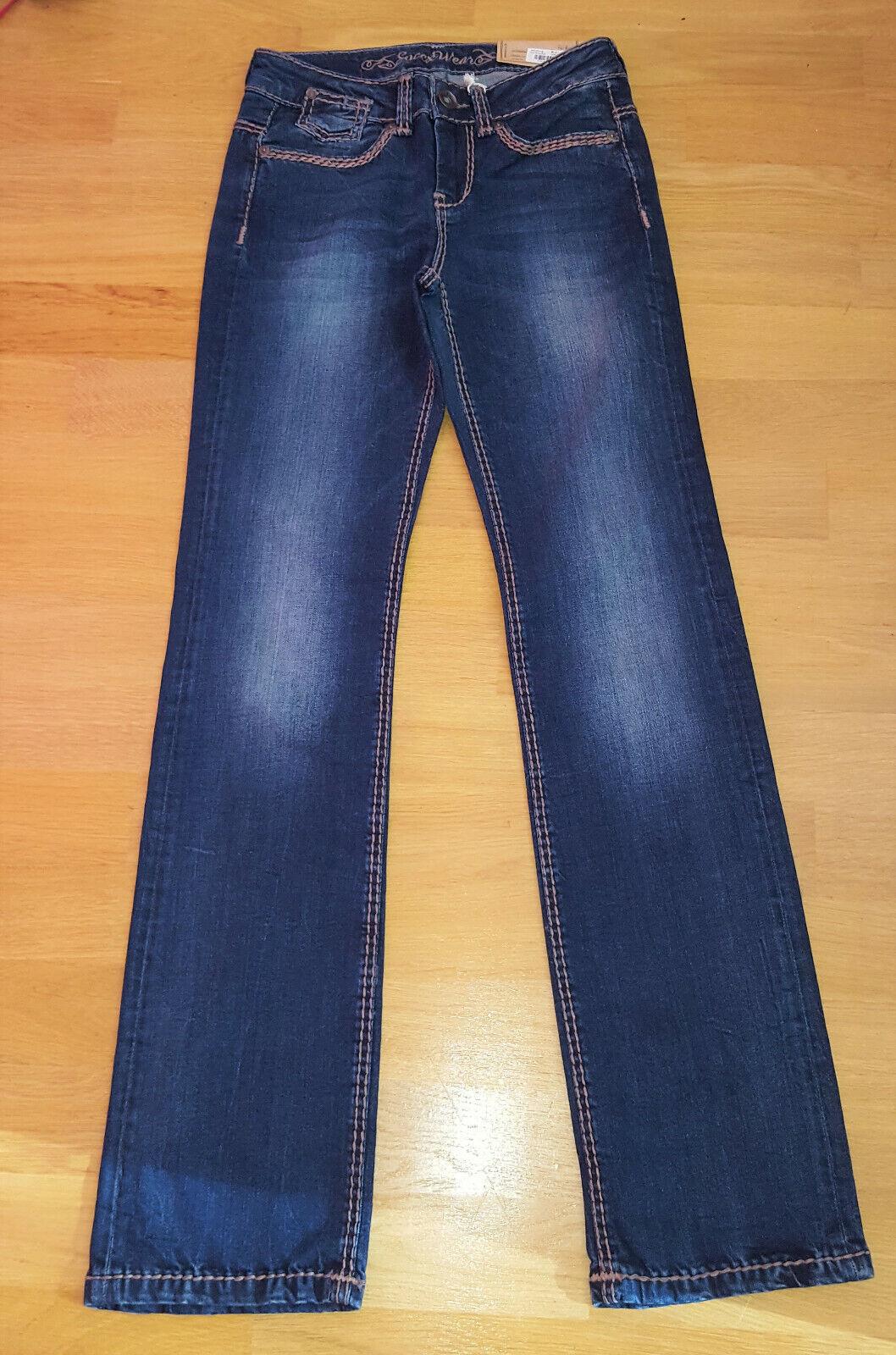 Jeans Damen Soccx blau Größe W26 l32 comfort fit neu mit Etikett