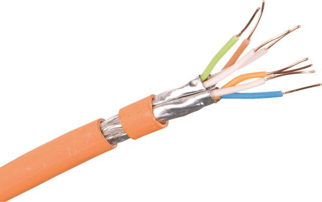 0,83€/m 50 Meter Draka Datenkabel Verlegekabel Cat7 UC900 HS23 1000 MHz Kat7 50m