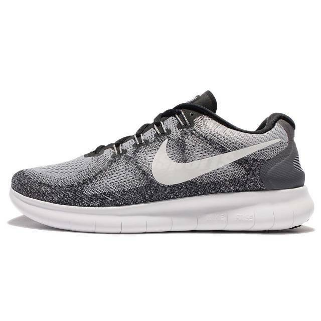 Nike Free Rn 2017, Men's size 13 D, WolfGrey OffWhite 880839-002 NEW
