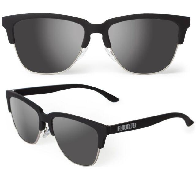 diseño de calidad c8e98 12232 Skullrider Polarized Sunglasses. Carbon black chrome Classic. Group Hawkers