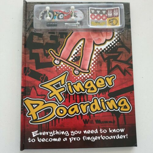 Finger Boarding Book with Included Board