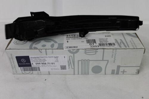 Genuine Mercedes-Benz W205 Clase C lámpara indicadora de repetidor Lh Espejo A0999067101