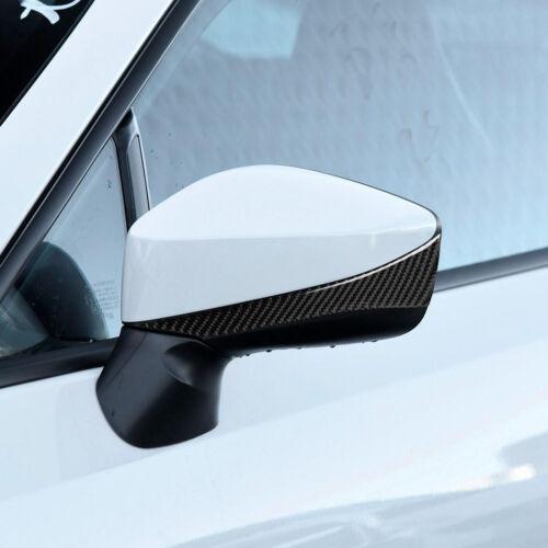 Car & Truck Parts Automotive 2*Carbon Fiber Side Rearview Mirror ...