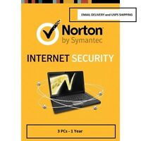 Norton Internet Security 3pc 1 Year - Email Delivery And Delivery