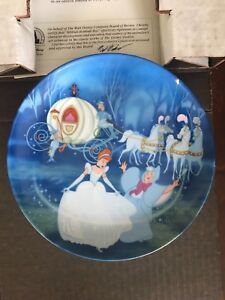 Bradford Exchange Cinderella Collector Plate