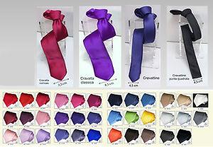 Cravatta-sartoriale-TINTA-UNITA-Made-in-Italy-CRAVATE-CORBATA-TIE-krawatte