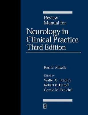 Review Manual for Neurology in Clinical Practice by Misulis, Karl E. -ExLibrary