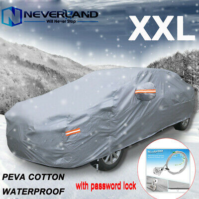MERCEDES CLS 11+ HEAVYDUTY FULLY WATERPROOF CAR COVER COTTON LINED