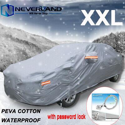 Heavy Duty Car Cover Protector Sun Snow Rain For Audi RS6 Estate 2008-2012