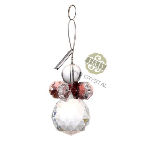 Crystal Prisms Ball Suncatcher Hanging Window Xmas Ornament Garden Decor Gift