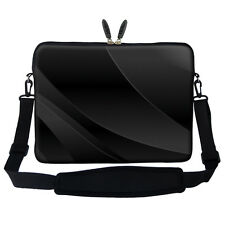 "15.6"" 15"" Laptop Computer Sleeve Case Bag w Handle & Shoulder Strap Asus Dell"