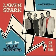 """LAWEN AND THE SLIDE BOPPERS STARK """"ON THE RUN""""  CD NEU"""