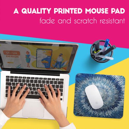 UK Seller Anti-Slip Gamimg Desk Mouse Pad Mat PC Laptop  Yellow Retro Gold