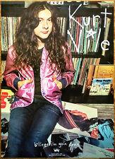 KURT VILE B'lieve I'm Goin Down 2015 Ltd Ed New RARE Poster +FREE Punk Poster
