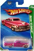 2010 Hot Wheels Treasure Hunt 45 Cadillac '53 Custom