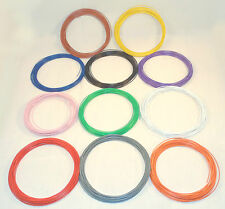 110m Layout Wire 1.4A 7/0.2 Standard DC track power/points/lights10mx 11 colours