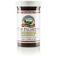 Saw Palmetto 550 Mg, Herbal Dietary Supplement, Kosher (Pack 2) 100 Capsule (Sunshine) Nutrition