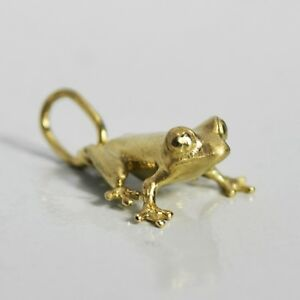 14K-Gold-Animal-Toad-Frog-Pendant-Charm-Made-to-Order