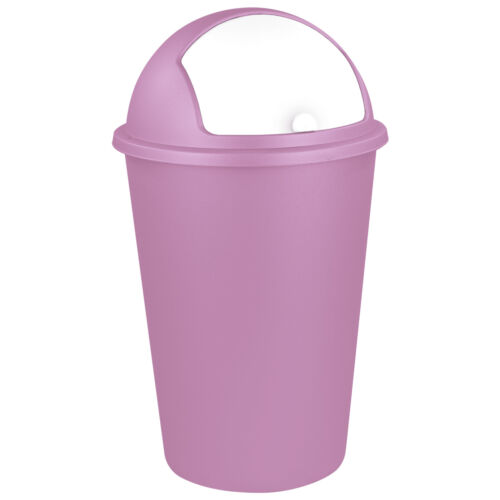 Abfalleimer Mülleimer Müllsammler Papierkorb Schiebedeckel Abfallbehälter 50 L