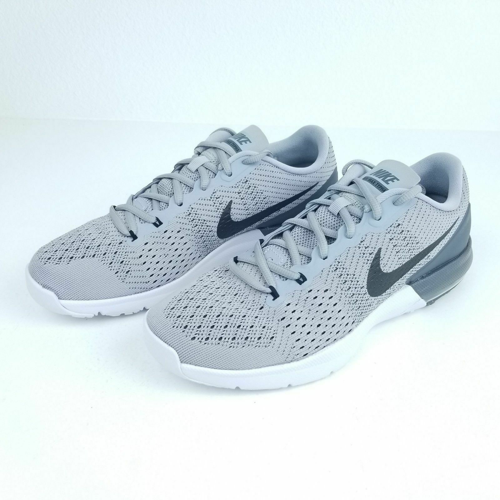 Men's Nike AIR MAX TYPHA TRAINING SHOE WOLF GREY 820198 002 Size 15