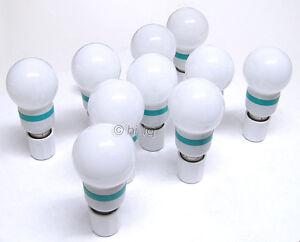 10Pcs 1.5W RGB auto Color 110V G16 Globe LED Light E26