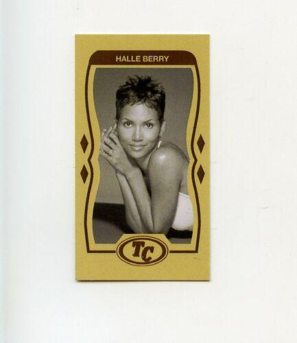 #LK.0635 HALLE BERRY Anti Tobacco NO SMOKING Trade Card RARE
