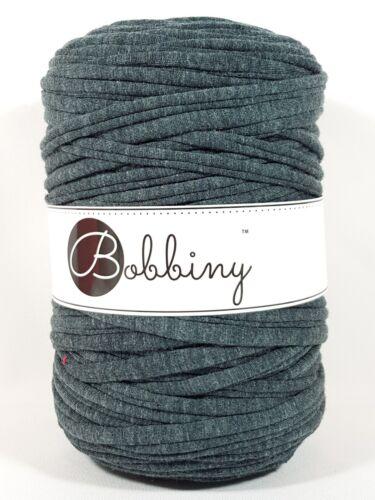Bobbiny /'sustancia Garn antracita//gris arcilla/' Nuevo Croché tejer como hooked 975