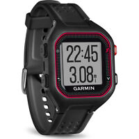 Garmin 010-01353-00 Forerunner 25 Large Gps Fitness Watch In Black/red
