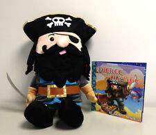 Bedtime Buddies Pierce the Pirate Plush Toy That Tells Bedtimes Stories! w/ Book