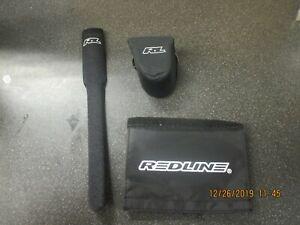 Redline BMX old school 3 pc frame pad set NOS
