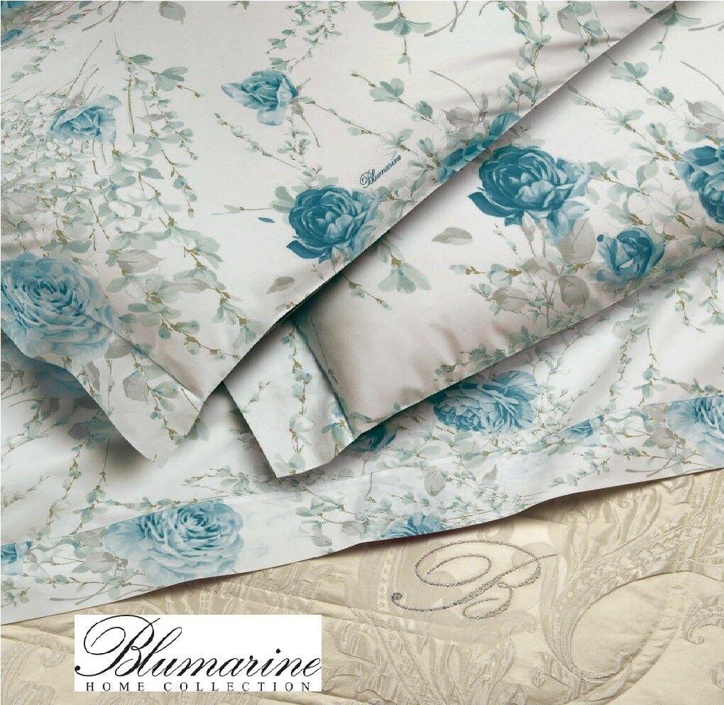 BlauMARINE. Full bett Sheets Charlene, 100% baumwolle. Double 2 squares.