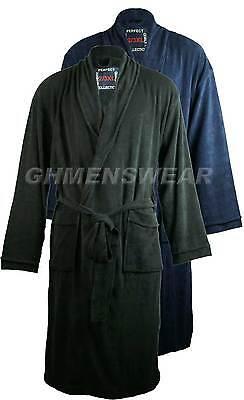 Mens Kings Club Big Size Fleece Dressing Gown Bath Robe 3XL 4XL 5XL 6XL 7XL 8XL