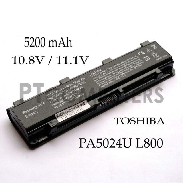 Battery for Toshiba Satellite L70 L800 L805 L830 L835 L840 L845 L850 L855 Laptop