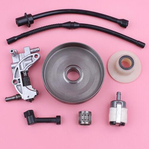 Clutch Drum w Repair Kit For Chinese Chainsaw 4500 5200 5800 45cc 52cc 58cc